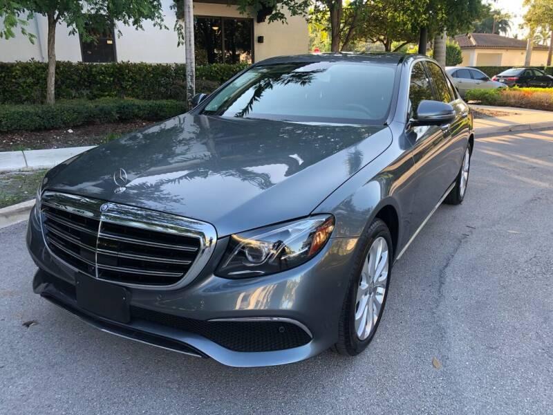2017 Mercedes-Benz E-Class for sale at CAR UZD in Miami FL