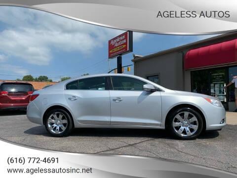 2012 Buick LaCrosse for sale at Ageless Autos in Zeeland MI