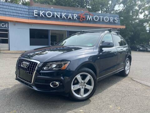 2012 Audi Q5 for sale at Ekonkar Motors in Scotch Plains NJ