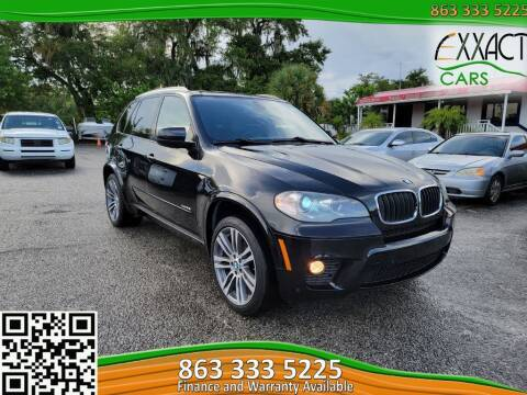 2013 BMW X5 for sale at Exxact Cars in Lakeland FL