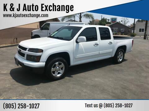 2011 Chevrolet Colorado for sale at K & J Auto Exchange in Santa Paula CA