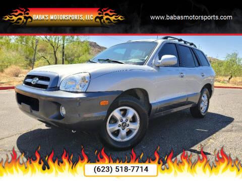 2006 Hyundai Santa Fe for sale at Baba's Motorsports, LLC in Phoenix AZ