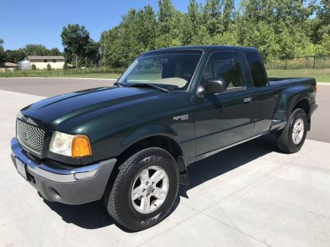 2002 Ford Ranger for sale at Angies Auto Sales LLC in Newport MN