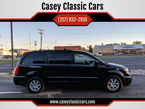 2013 Chrysler Town and Country for sale at Casey Classic Cars in Casey IL
