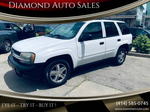 2006 Chevrolet TrailBlazer for sale at Diamond Auto Sales in Milwaukee WI