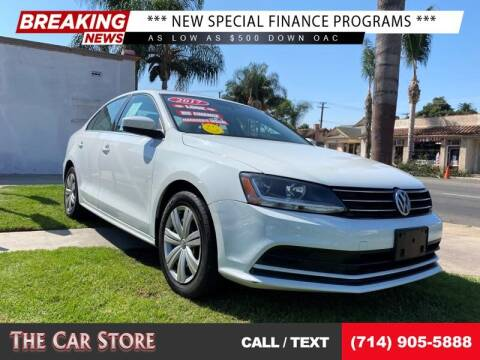 2017 Volkswagen Jetta for sale at The Car Store in Santa Ana CA