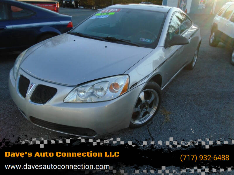 2007 Pontiac G6 for sale at Dave's Auto Connection LLC in Etters PA