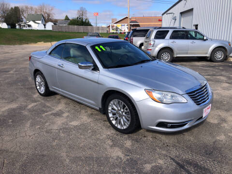 2011 Chrysler 200 Convertible for sale at ROTMAN MOTOR CO in Maquoketa IA