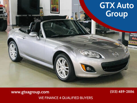 2010 Mazda MX-5 Miata for sale at GTX Auto Group in West Chester OH
