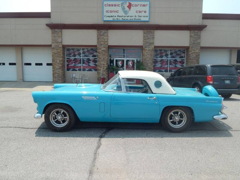 1956 Ford Thunderbird for sale at Iconic Motors of Oklahoma City, LLC in Oklahoma City OK