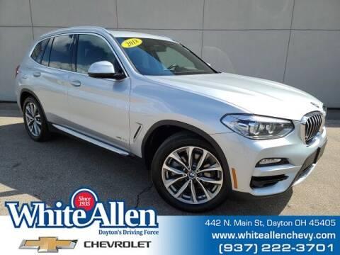 2018 BMW X3 for sale at WHITE-ALLEN CHEVROLET in Dayton OH