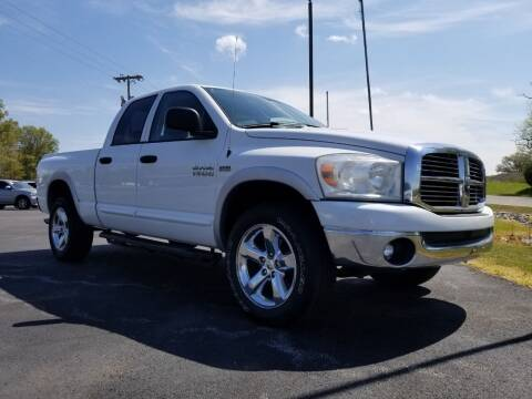 2007 Dodge Ram Pickup 1500 for sale at Ridgeway's Auto Sales in West Frankfort IL