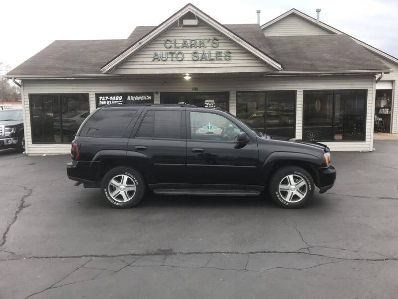 2005 Chevrolet TrailBlazer for sale at Clarks Auto Sales in Middletown OH