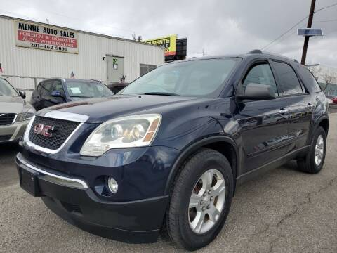 2011 GMC Acadia for sale at MENNE AUTO SALES in Hasbrouck Heights NJ