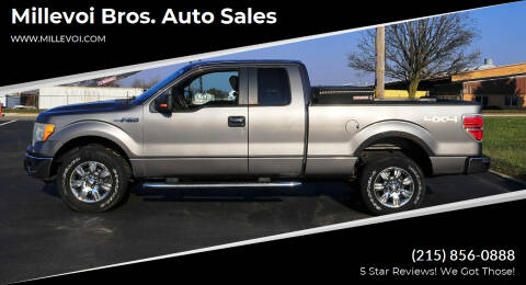 2009 Ford F-150 for sale at Millevoi Bros. Auto Sales in Philadelphia PA