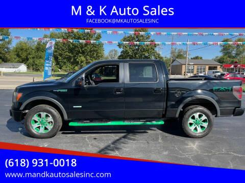 2011 Ford F-150 for sale at M & K Auto Sales in Granite City IL