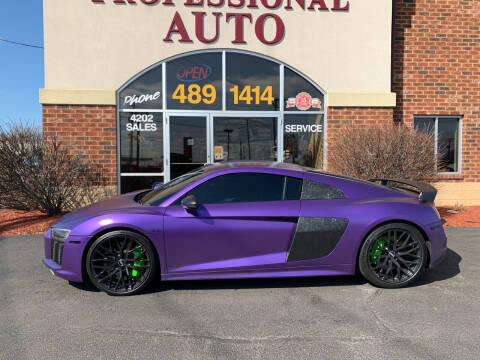 2017 Audi R8 for sale at Professional Auto Sales & Service in Fort Wayne IN
