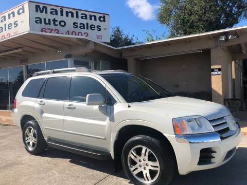 2005 Mitsubishi Endeavor for sale at Mainland Auto Sales Inc in Daytona Beach FL