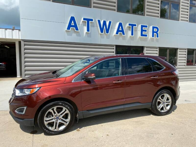 2015 Ford Edge for sale at Atwater Ford Inc in Atwater MN