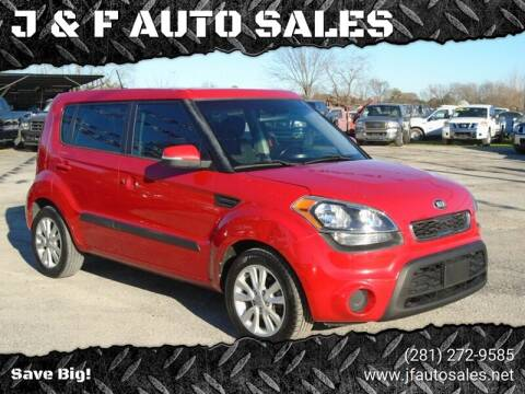 2013 Kia Soul for sale at J & F AUTO SALES in Houston TX