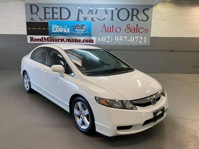 2009 Honda Civic for sale at REED MOTORS LLC in Phoenix AZ