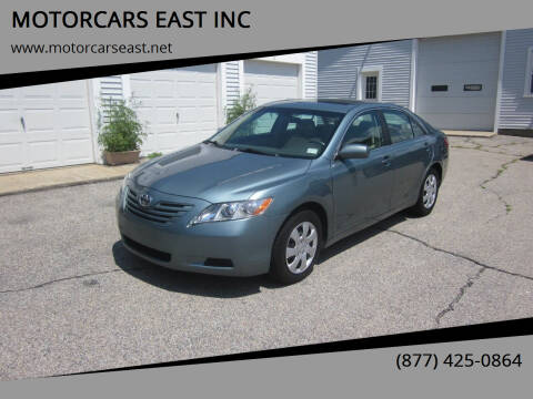 2009 Toyota Camry for sale at MOTORCARS EAST INC in Derry NH