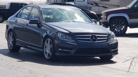 2013 Mercedes-Benz C-Class for sale at Pioneers Auto Broker in Tampa FL
