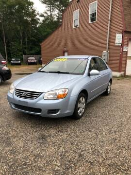 2008 Kia Spectra for sale at Hornes Auto Sales LLC in Epping NH
