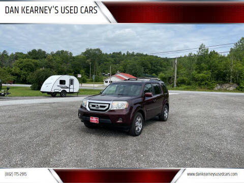 2011 Honda Pilot for sale at DAN KEARNEY'S USED CARS in Center Rutland VT