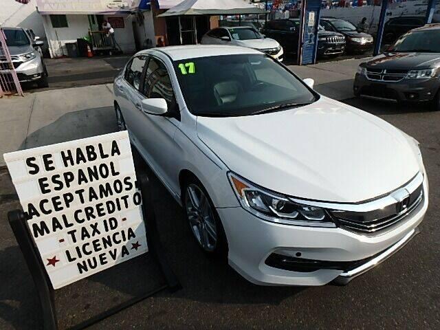 2017 Honda Accord for sale at Cedano Auto Mall Inc in Bronx NY