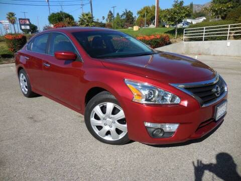2015 Nissan Altima for sale at ARAX AUTO SALES in Tujunga CA