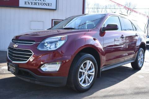 2017 Chevrolet Equinox for sale at Dealswithwheels in Inver Grove Heights/Hastings MN