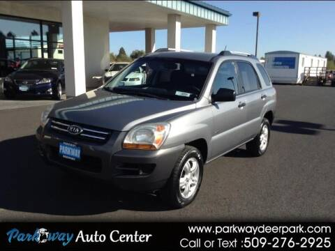 2007 Kia Sportage for sale at PARKWAY AUTO CENTER AND RV in Deer Park WA