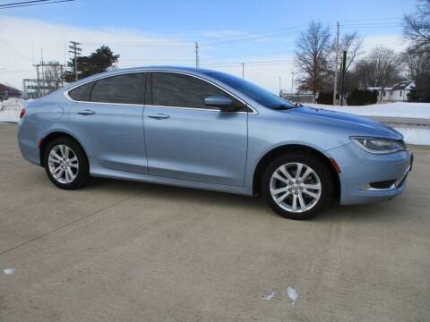 2015 Chrysler 200 for sale at Crossroads Used Cars Inc. in Tremont IL