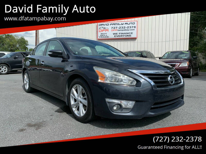 2014 Nissan Altima for sale at David Family Auto in New Port Richey FL