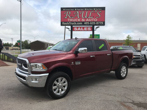 2018 RAM Ram Pickup 2500 for sale at RAUL'S TRUCK & AUTO SALES, INC in Oklahoma City OK