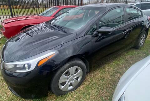2018 Kia Forte for sale at Ody's Autos in Houston TX