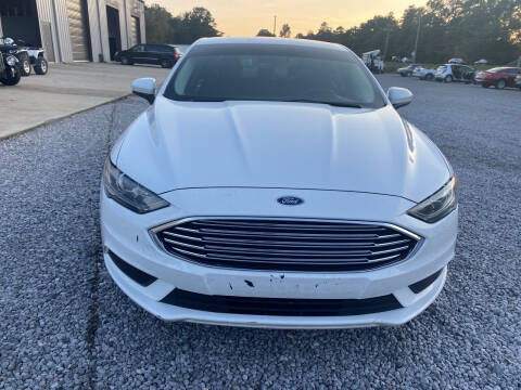 2017 Ford Fusion for sale at Alpha Automotive in Odenville AL