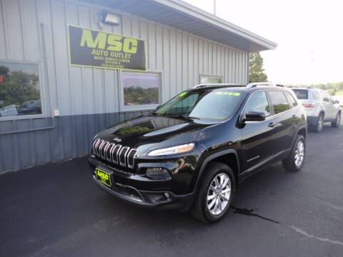 2014 Jeep Cherokee for sale at Moss Service Center-MSC Auto Outlet in West Union IA