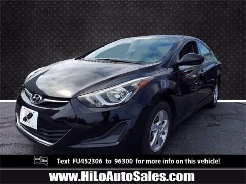 2015 Hyundai Elantra for sale at Hi-Lo Auto Sales in Frederick MD