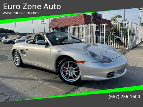 2003 Porsche Boxster for sale at Euro Zone Auto in Stanton CA
