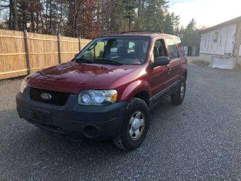 2005 Ford Escape for sale at Hornes Auto Sales LLC in Epping NH