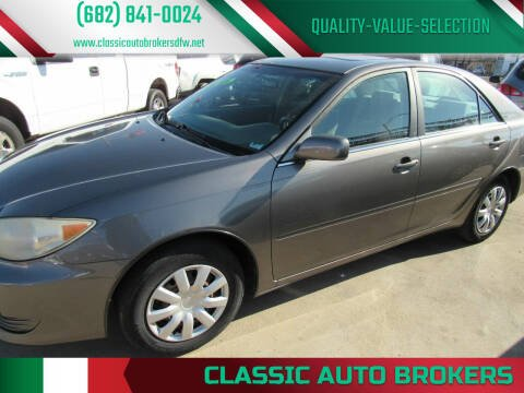 2006 Toyota Camry for sale at Classic Auto Brokers in Haltom City TX