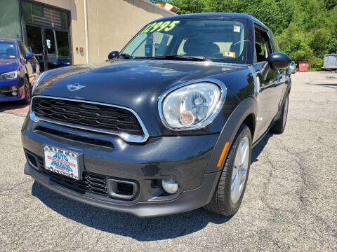 2013 MINI Paceman for sale at Auto Wholesalers Of Hooksett in Hooksett NH
