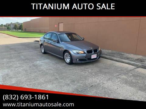 2009 BMW 3 Series for sale at TITANIUM AUTO SALE in Houston TX