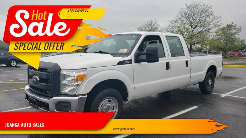 2012 Ford F-250 Super Duty for sale at JOANKA AUTO SALES in Newark NJ