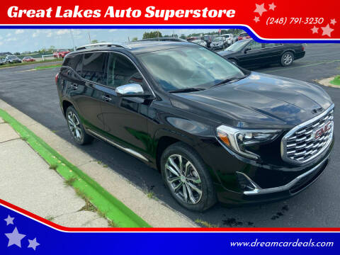 2018 GMC Terrain for sale at Great Lakes Auto Superstore in Waterford Township MI