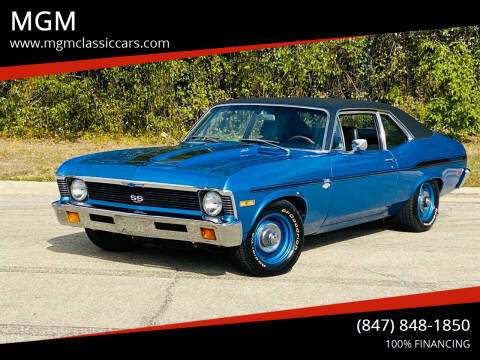 1971 Chevrolet Nova for sale at MGM CLASSIC CARS in Addison IL