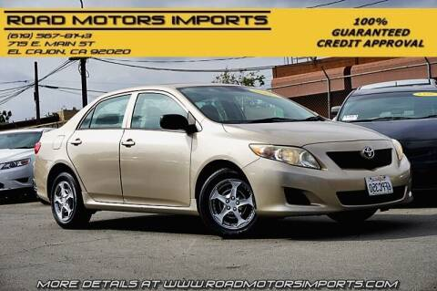 2009 Toyota Corolla for sale at Road Motors Imports in El Cajon CA