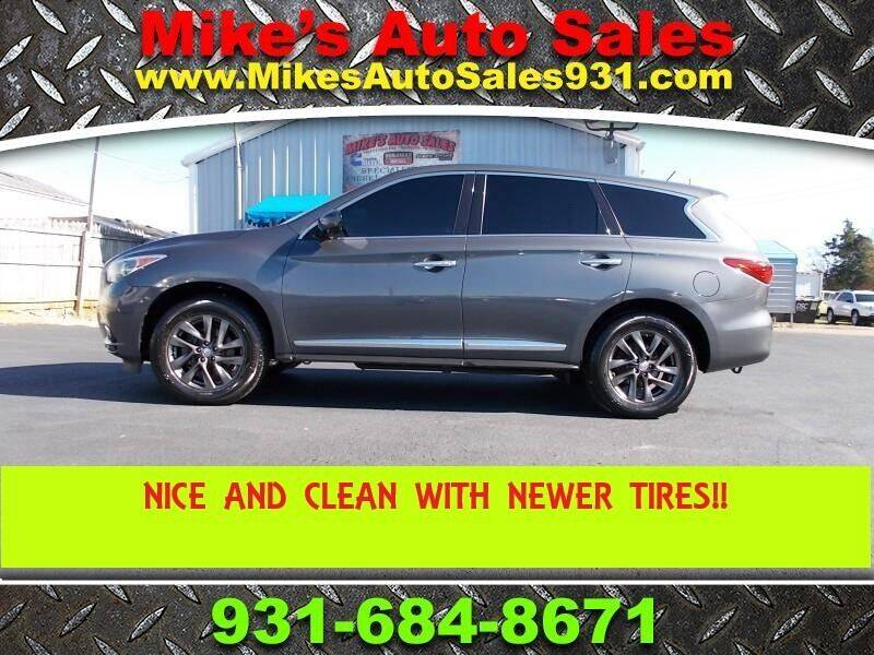 2013 Infiniti JX35 for sale at Mike's Auto Sales in Shelbyville TN